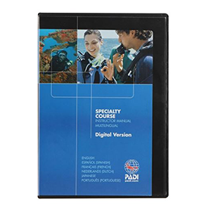 PADI Digital Speciality Instructor Manual - CD ROM