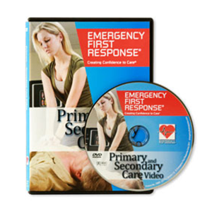 PADI Emergency First Response dvd