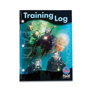 PADI Training Log Logbook