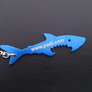 826191 PADI Shark Key Chain