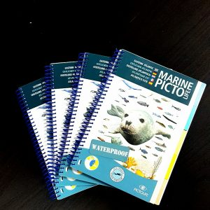 Waterproof fish ID book